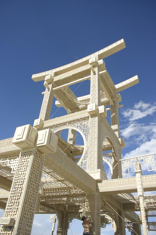 Temple of Forgiveness, Burningman 2007