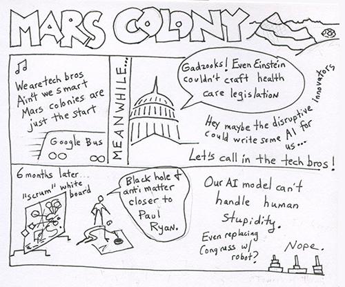 mars colony500