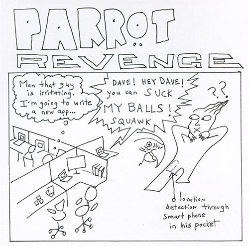 parrot revenge500