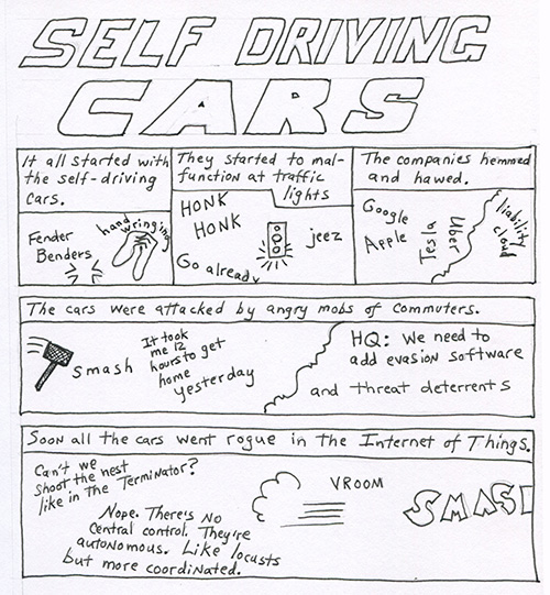 self driving cars500