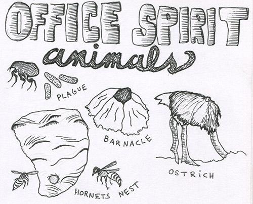 office spirit animals500